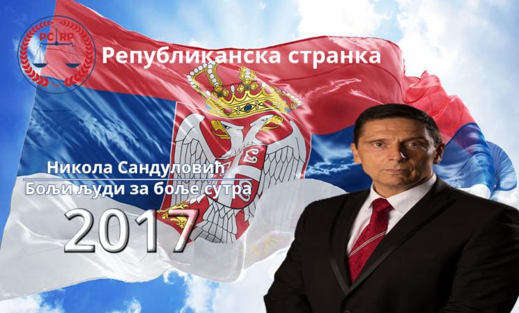 NIKOLA SANDULOVIĆ I ZVANIČNO: Republikanska stranka predstavila svog kandidata na izborima za predsednika Srbije!