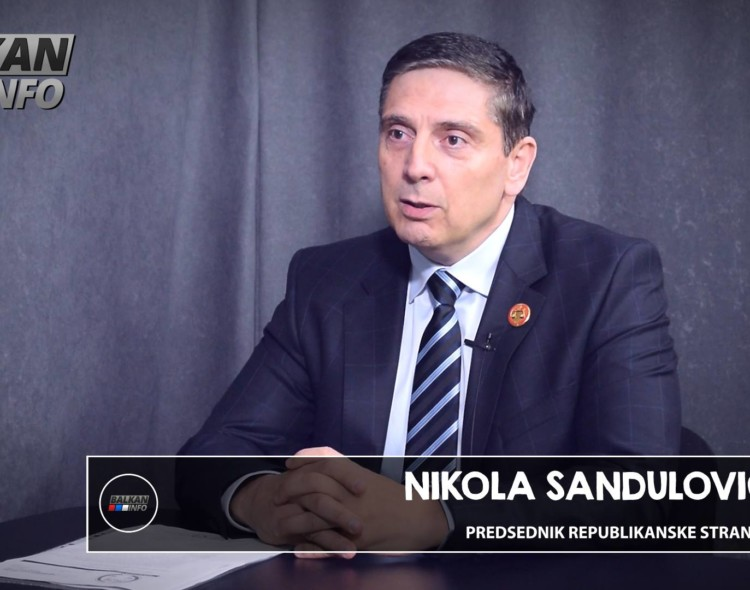 Nikola Sandulović - Vučić i bitange i kriminalci sa vlasti su običan ološ!