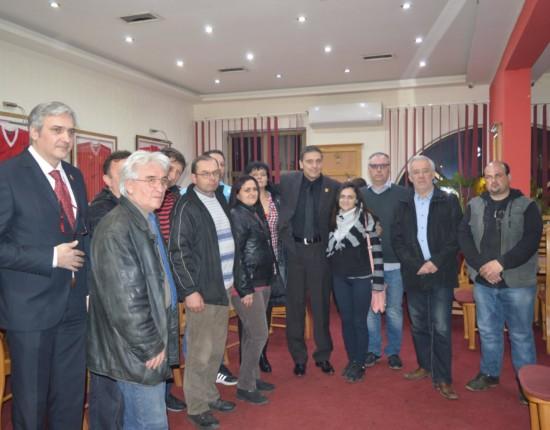 Predsednički kandidata Republikanske stranke Nikole Sandulovića u Boru 27.02.2017.