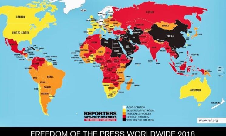 Srbija na dnu medijskih sloboda