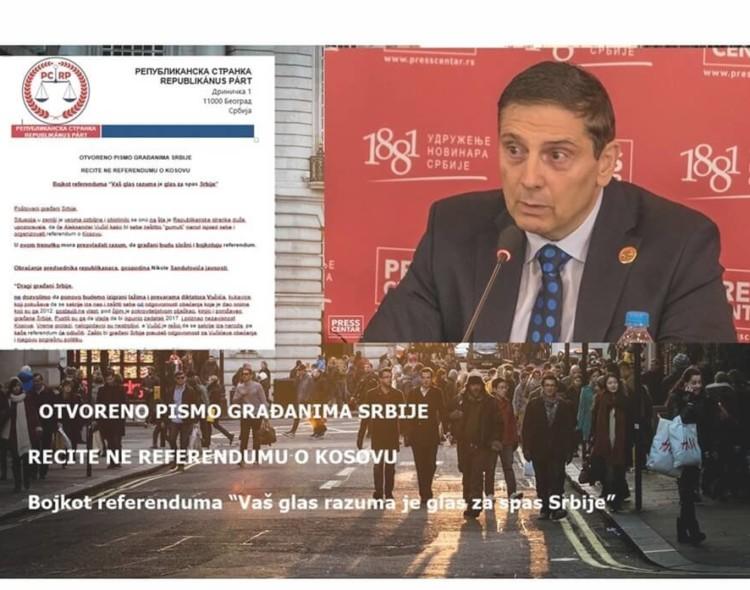 Video:Bojkot referenduma o Kosovu, glas razuma građana Srbije