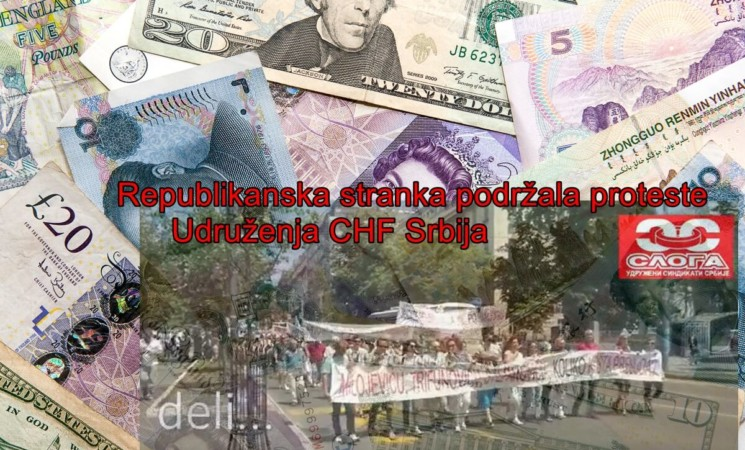 Podrška Republikanske stranke na protestu Udruženja  CHF Srbija- video