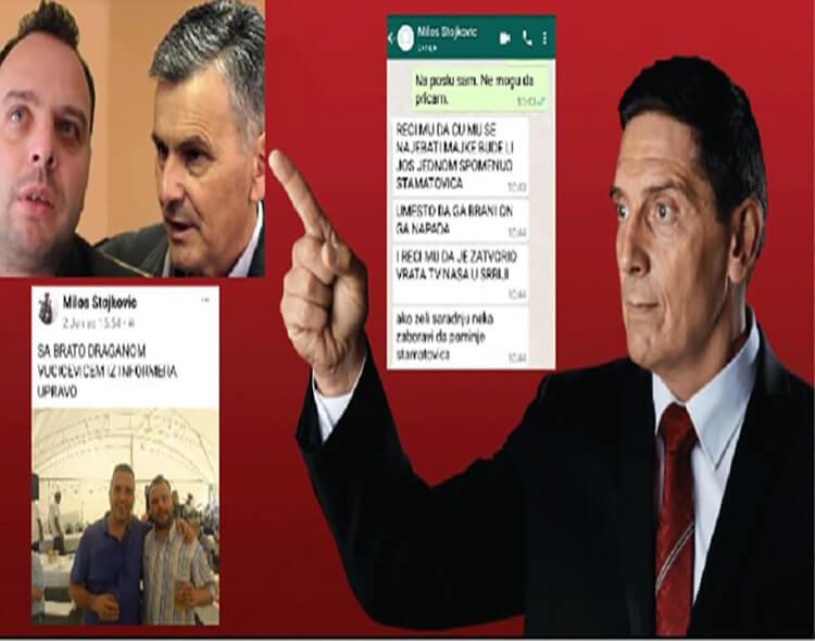 """Teolog psovkom uputio pretnju Sanduloviću:   """"Nek ne spominje Stamatovića, naj...ću mu se majke!"""""""